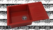 Кухненска мивка Полимермрамор с борд FAT/2281402/ 80x49