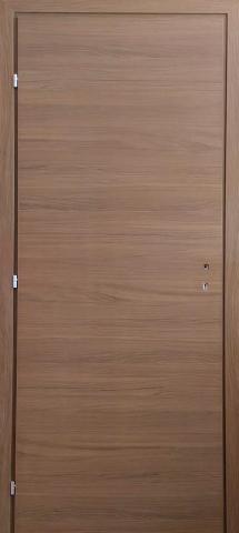 Врата Ясен Графит 70Х200 + каса 10см дясна
