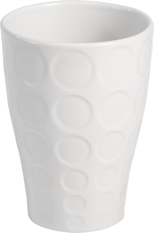 Керамична кашпа, Н:18 см.