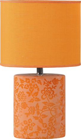 Баиа настолна лампа оранжева
