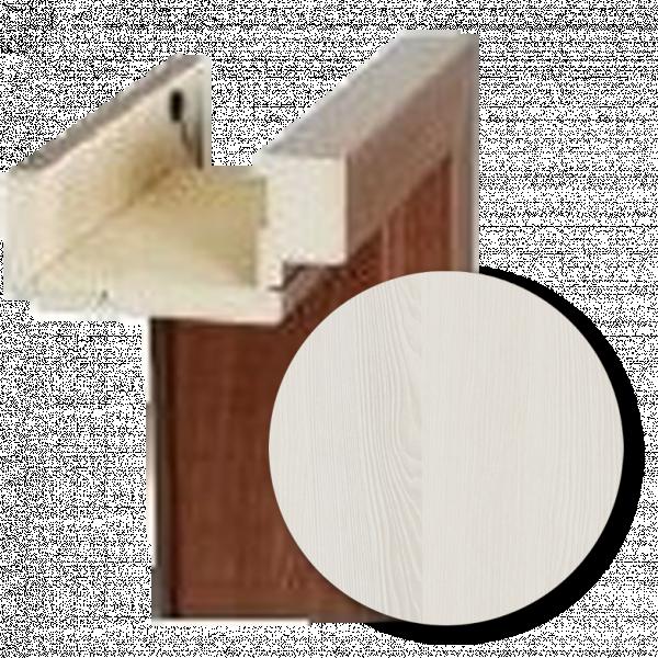 Каса CMOK 110-150 лява база 70см. - ясен бял 3D