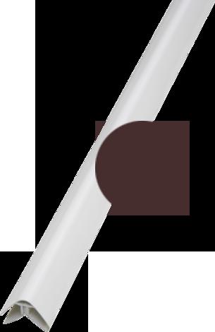 Прав ъгъл тъмно кафяв