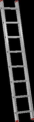 Алуминиева стълба 1х8