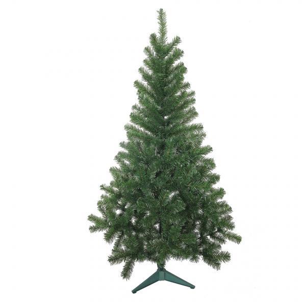 Изкуствена елха PVC зелена 210см