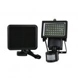 LED соларен прожектор с датчик 60W 10000K IP44