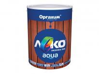 Паркетен лак Лeко Aqua 2.5л, безцветен
