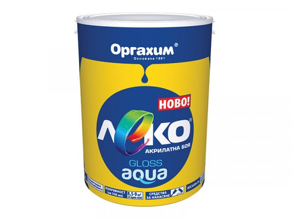 Леко Аqua гланц черв.0,7л