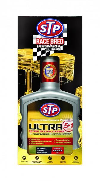 STP Добавка за почистване на горивната система  бензин 400мл