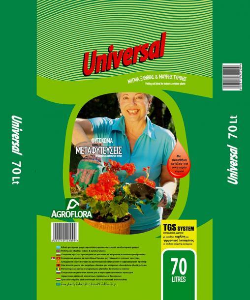 Почва за цветя Universal 70 л