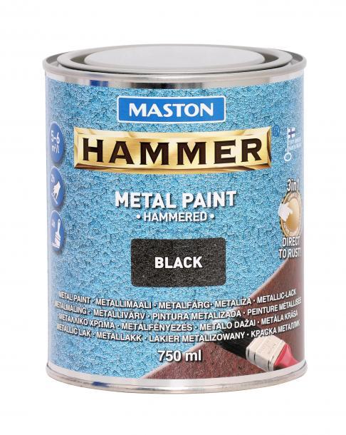 Боя с хамът ефект Maston 3в1 0.75л, черна