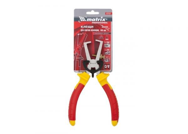 Клещи за оголване на кабел MTX