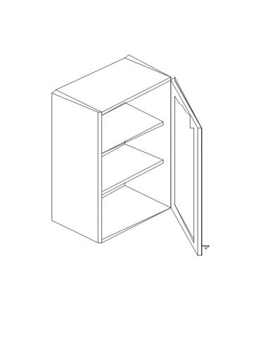 Талпи горен шкаф с една врата 60х29х70.5