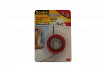 Монтажна лента Scotch 40021915A 19мм х1.5м, прозрачна