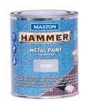 Боя с хамър ефект Maston 3в1 0.75л, сребро