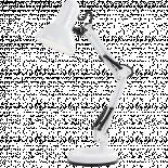 Настолна лампа Famous 1хЕ27 бяла