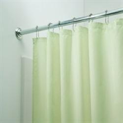 Душ завеса 180х180, зелена