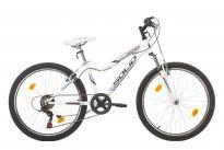 "Велосипед MYSTIQUE 24""- бял мат 18 скорости"