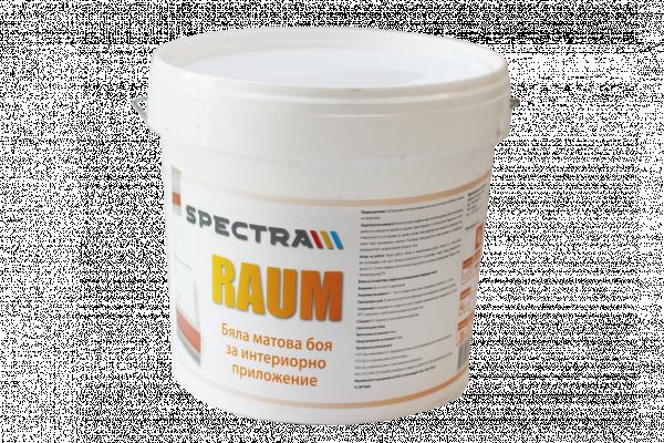 Бяла интериорна боя Spectra Raum 10 л