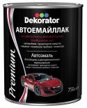 Автоемайллак Dekorator 0.75л, черен