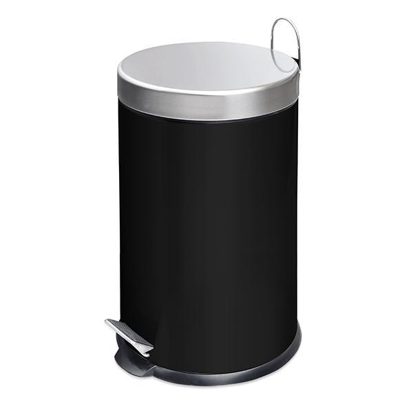 Кош за смет 5 л, черен