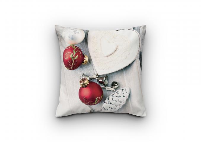 Деко Коледна възглавница дизайн 4