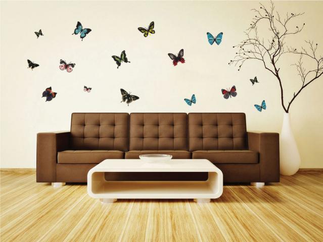 Стикер за стена 30x90 см 2