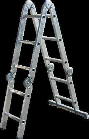 Алуминиева стълба 4х3