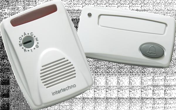 Безж. звънец с лампа ML-7100