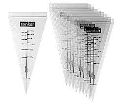 Zenker 10 шприца за гарниране 15x30см