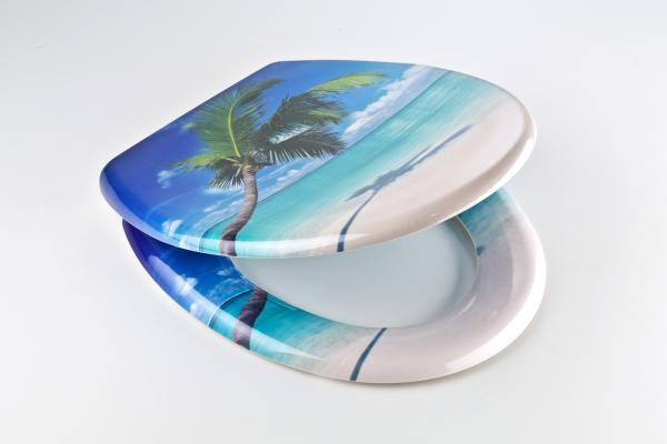 Тоалетна седалка Caribbean Duroplast