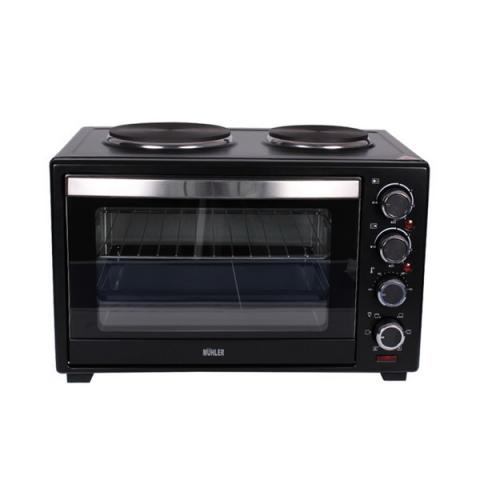 Готварска печка (мини) MUHLER MN-3809 черна 4