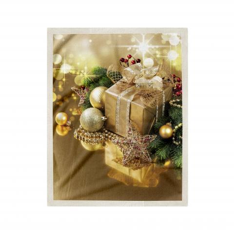 Одеяло Коледна шерпа дизайн 5