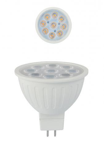 LED крушка GU5.3 6W 6400K 528lm