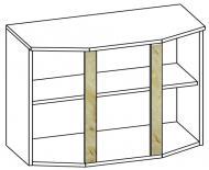 Горен шкаф с витрина Алина 80см