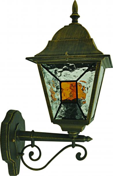 Градинска лампа  долен носач Кан Е27 max 60W