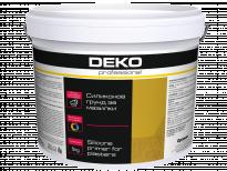 Силиконов грунд Deko Professional 5 кг, бял