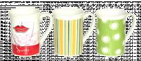 Чаша порцеланова с декор