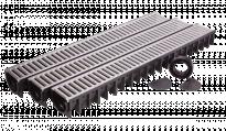 Канали за линейно отводняване 3бр пакет с аксесоари за монтаж и начални и крайни тапи