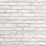PVC Ламперия Motivo Modern 25см/8мм 2,65м2 Loft Brick/Бяла тухла