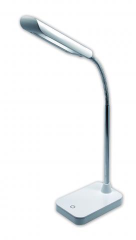LED работна лампа 5W 320Lm, дим 3-степ, метал