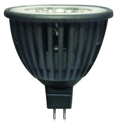 LED крушка 5W 12V GU5.3 MR16 4000K COB Alu