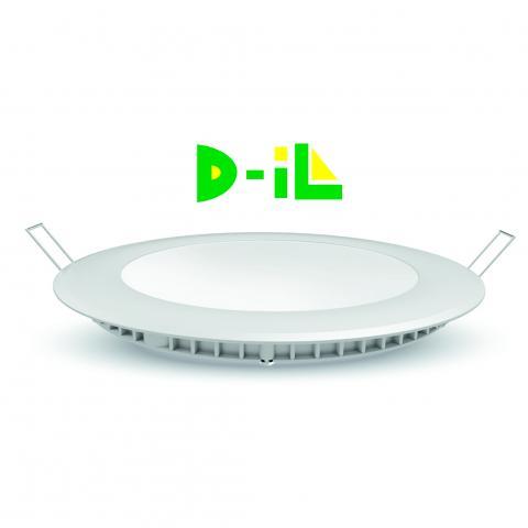LED панел 6W 400Lm 4200K кръг