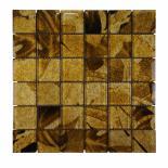 Стъклена мозайка светлокафяв