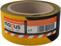 Сигнална лента 100м/50мм, жълто-черна