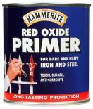 Грунд за метал Hammerite 0.5л, червен оксид