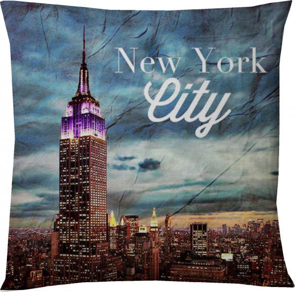 Деко възглавница 45х45 см Ню Йорк