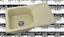 Кухненска мивка с плот Полимермрамор FAT/2150300/ 80x49