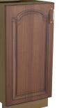 """Врата за миялна 59.6 см с дръжка """"Орех"""""""
