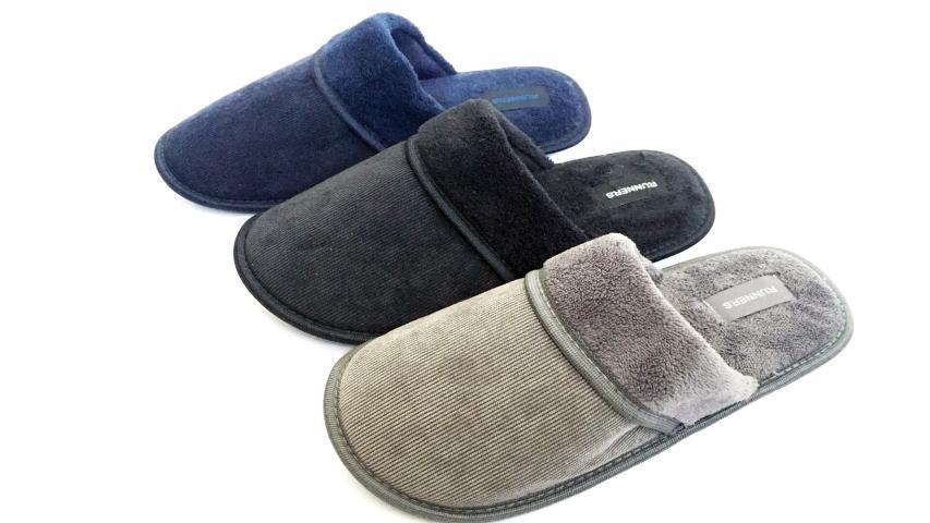 Домашни чехли мъжки Black/Grey/Navy 41-46