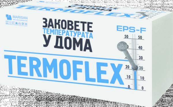 Фасаден EPS ТЕРМОФЛЕКС F-EXTRA, 8см, 3м2/пакет